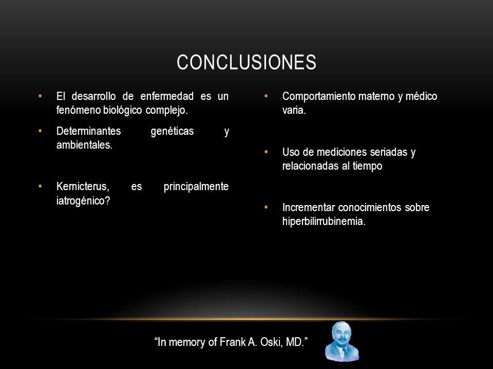El desarrollo de enfermedad es un fenómeno biológico complejo.
