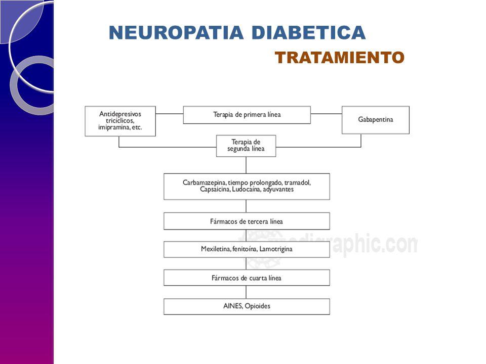 NEUROPATIA DIABETICA TRATAMIENTO