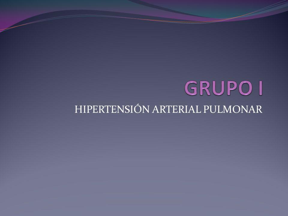 Angiografía pulmonar Se requiere la caterización de la arteria pulmonar para la confirmación de HAP.