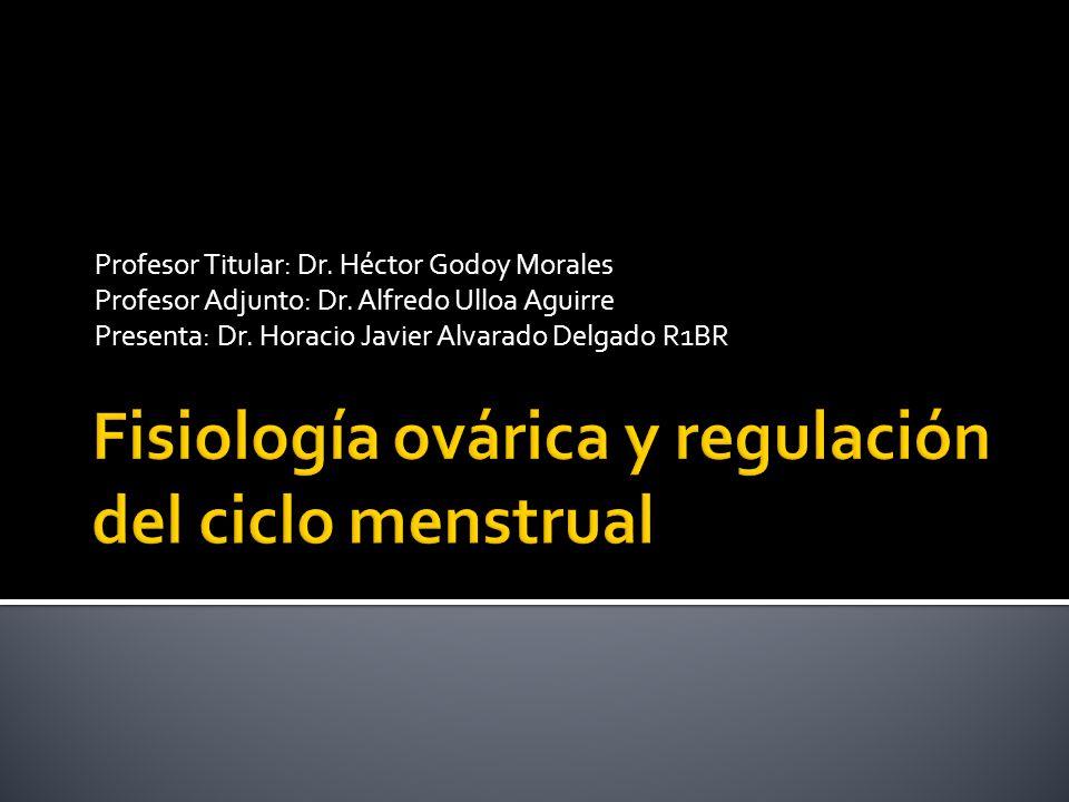 Profesor Titular: Dr. Héctor Godoy Morales Profesor Adjunto: Dr. Alfredo Ulloa Aguirre Presenta: Dr. Horacio Javier Alvarado Delgado R1BR