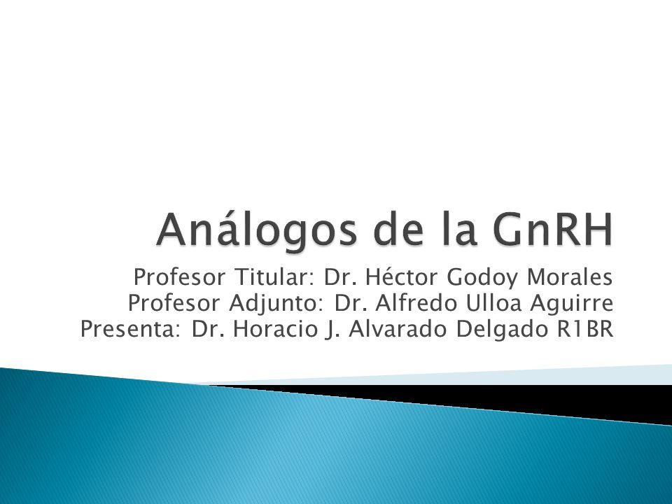 Profesor Titular: Dr.Héctor Godoy Morales Profesor Adjunto: Dr.