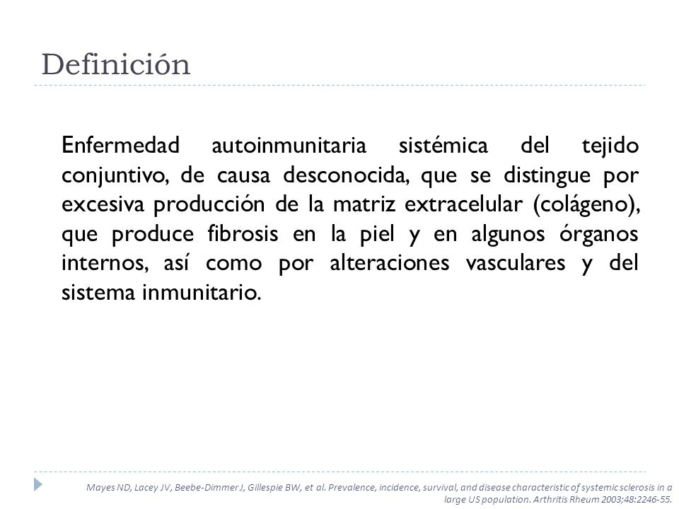 Herrick A, 2010 ISQUEMIA CIANOSIS REPERFUSION Respuesta Trifásica Clásica Mayes ND, Lacey JV, Beebe-Dimmer J, Gillespie BW, et al.