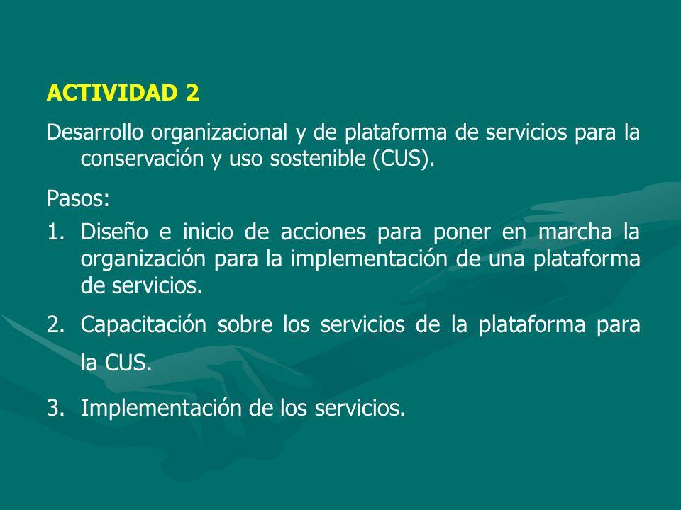 ACTIVIDAD 3 Fortalecimiento de las relaciones interinstitucionales y las instituciones seleccionadas de los países amazónicos andinos mediante la difusión de resultados y casos exitosos de BIODAMAZ en sus dos fases.