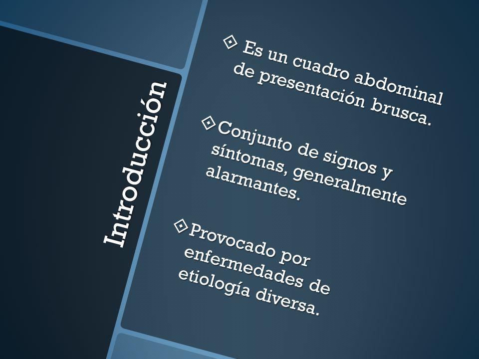 Métodos Auxiliares Laboratorio: Laboratorio: leucocitosis, Hto, amilasa, lipasa leucocitosis, Hto, amilasa, lipasa Imagen: Imagen: Rx, USG, TAC Rx, USG, TAC