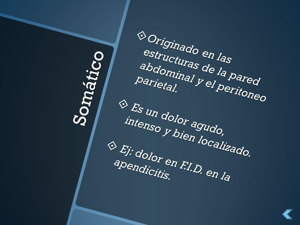Clasificación de Bockus GRUPO B.
