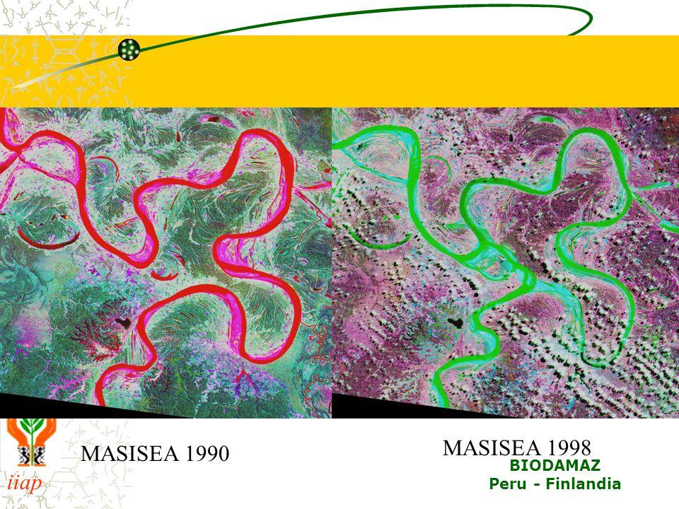 iiap BIODAMAZ Peru - Finlandia MASISEA 1990 MASISEA 1998