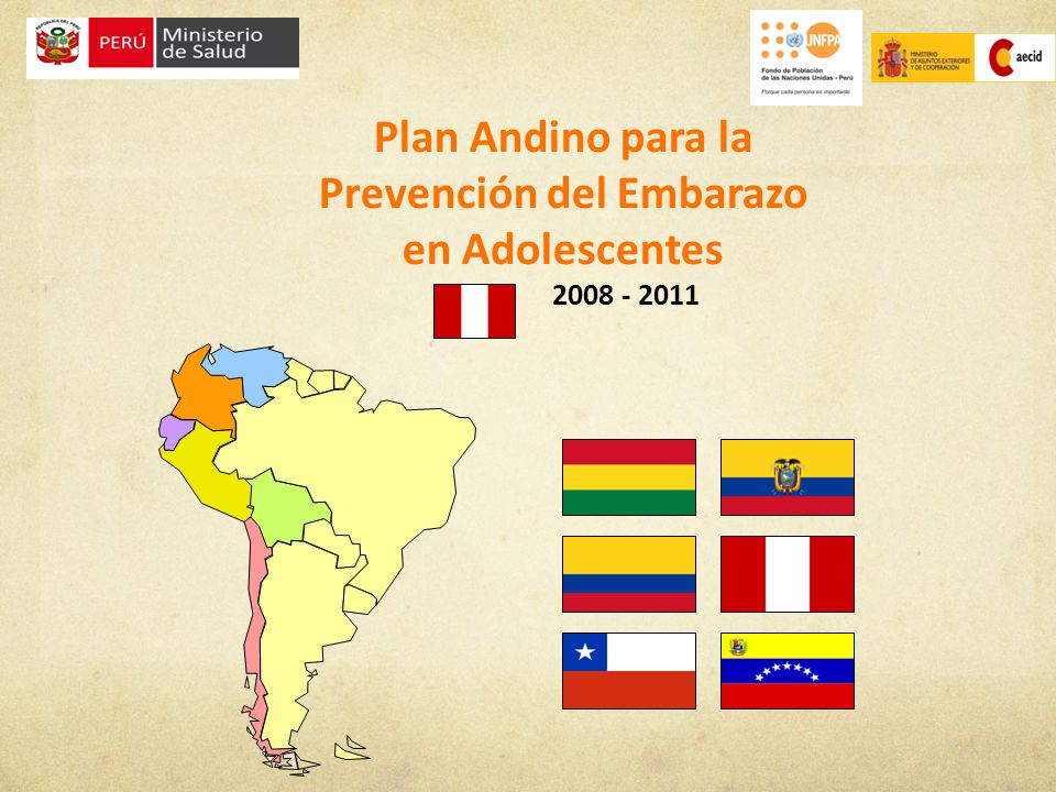 Fortalecimiento de los sistemas de información y monitoreo del embarazo en adolescentes Se cuenta con un Diagnóstico sobre la situación del embarazo adolescente en la Región Andina incluyendo datos de Perú.