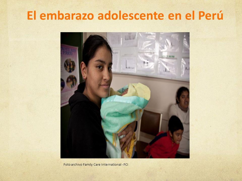 En el Perú viven 5821,587 adolescentes lo cual representa el 20% de la población.