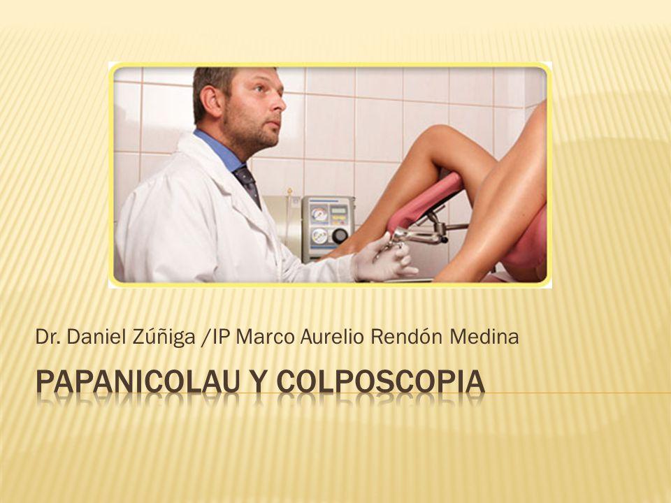 Dr. Daniel Zúñiga /IP Marco Aurelio Rendón Medina