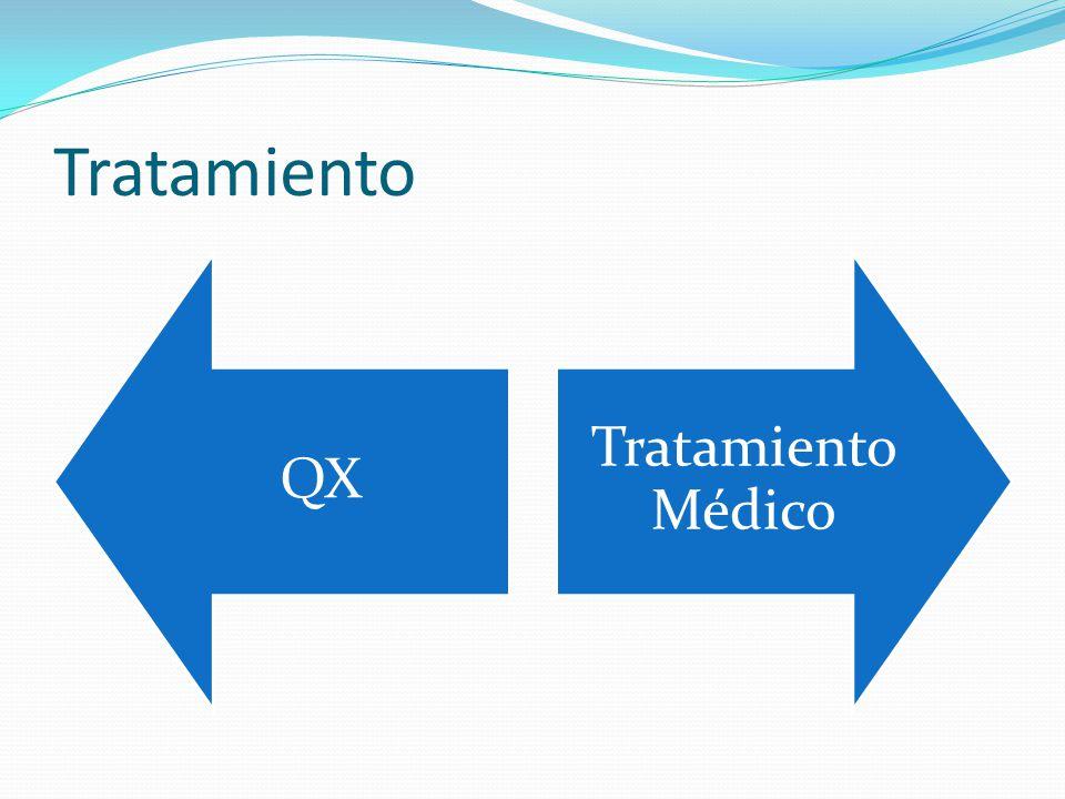 Tratamiento QX Tratamiento Médico