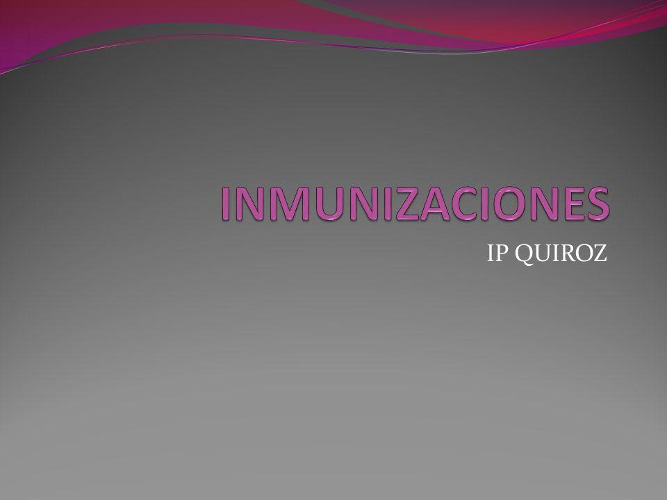 Haemophilus Influenzae Tipo B Dosis Si es combinada: 2-4-6m y 18 m Vía IM