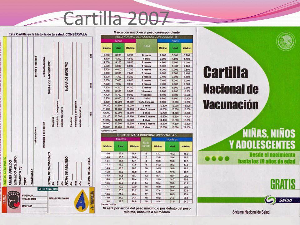 Cartilla 2007