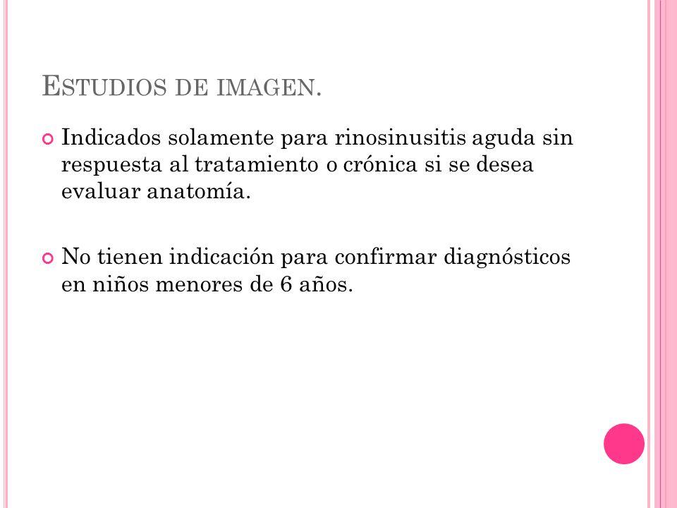 E STUDIOS DE IMAGEN.