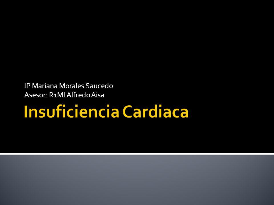 Es un síndrome que resulta de cualquier daño cardiaco estructural o funcional.
