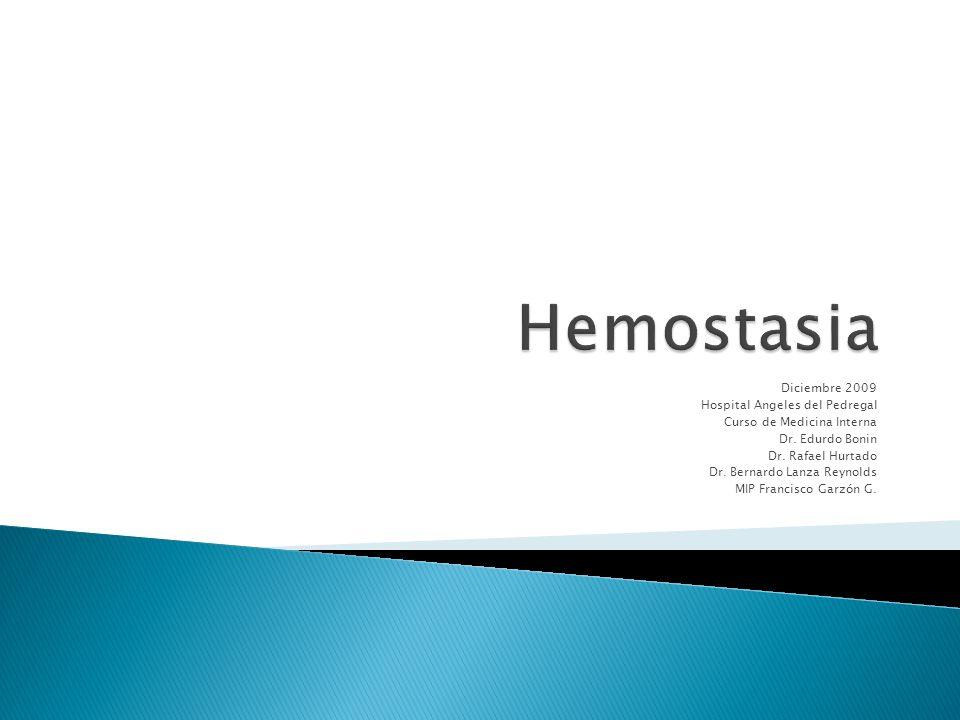 Etimologia: Haima = Sangre Stasis = Detener Proceso de formación de la barrera contra la pérdida de sangre y limitación del sitio lesionado