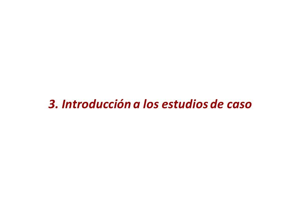 3. Introducción a los estudios de caso
