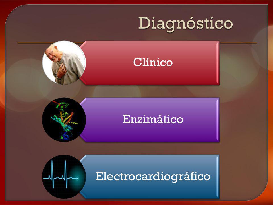 Clínico Enzimático Electrocardiográfico