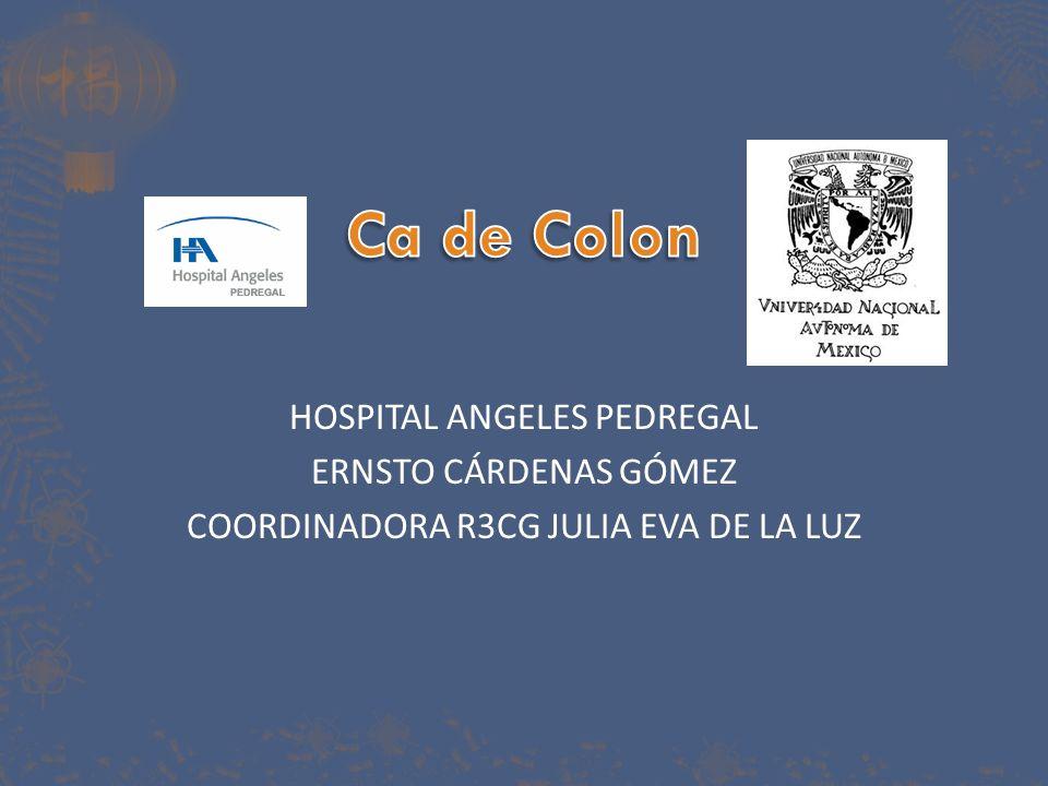 El cáncer de colon es un problema de salud publica en México.
