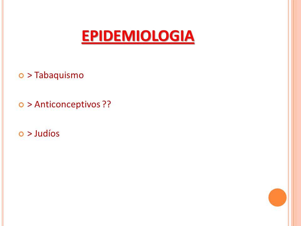 EPIDEMIOLOGIA > Tabaquismo > Anticonceptivos ?? > Judíos
