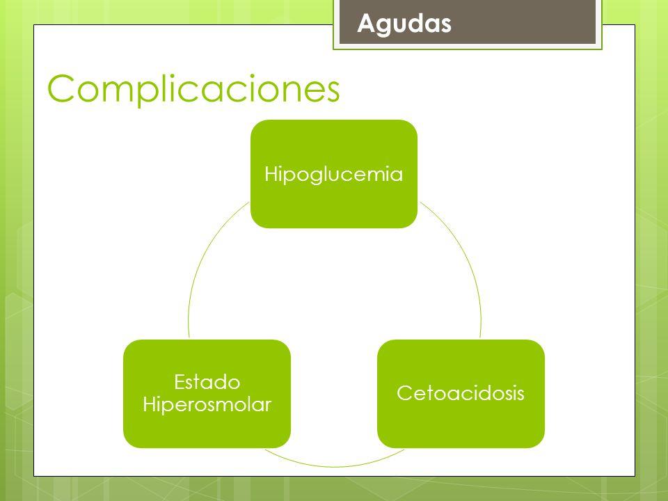 HipoglucemiaCetoacidosis Estado Hiperosmolar Agudas