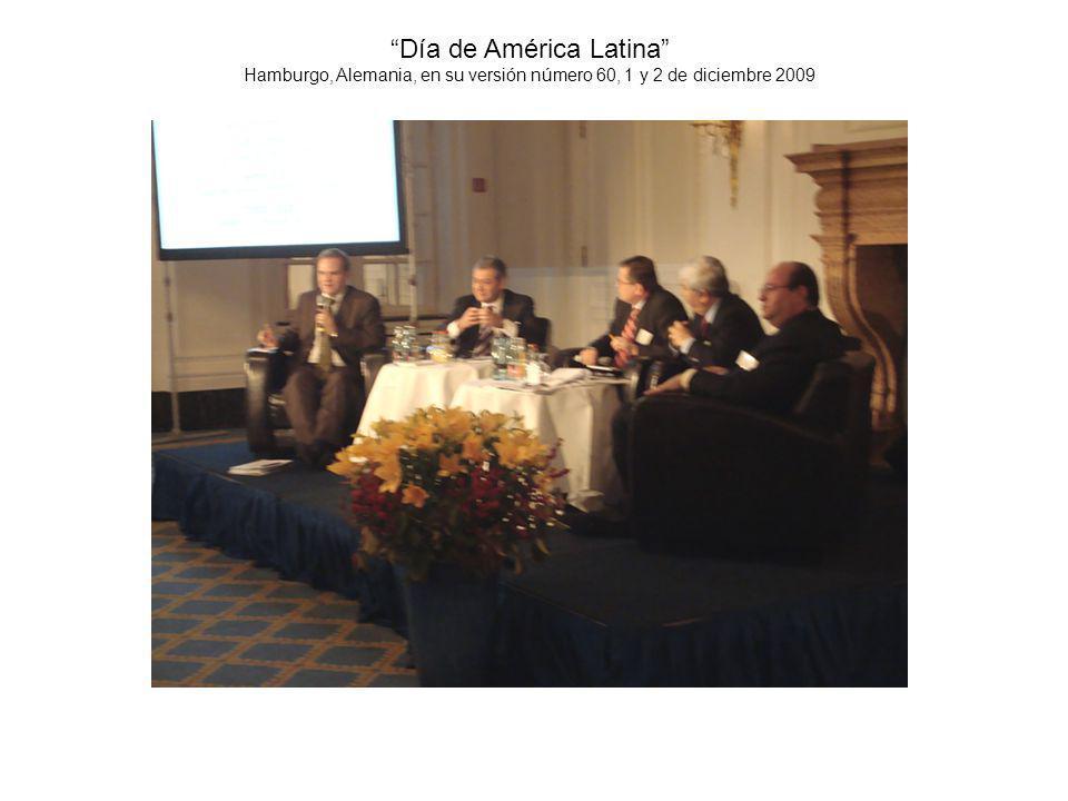 Día de América Latina Hamburgo, Alemania, en su versión número 60, 1 y 2 de diciembre 2009