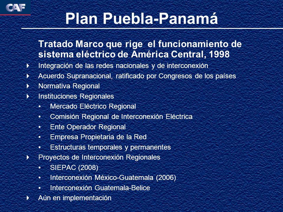 Tratado Marco que rige el funcionamiento de sistema eléctrico de América Central, 1998 Integración de las redes nacionales y de interconexión Acuerdo