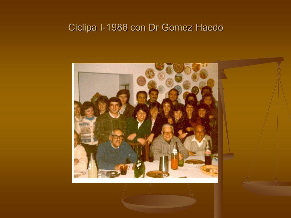 Ciclipa I-1988 con Dr Gomez Haedo