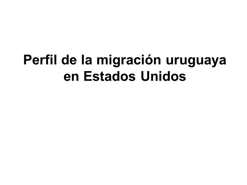 Perfil de la migración uruguaya en Estados Unidos