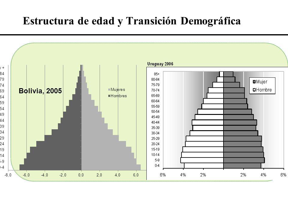 Estructura de edad y Transición Demográfica