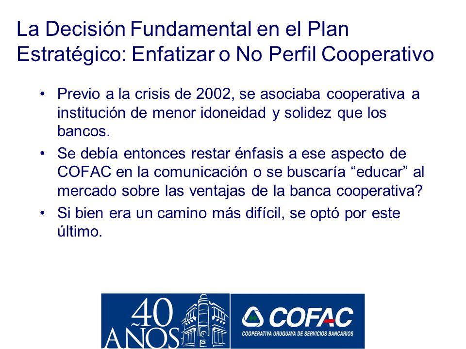 El Grupo COFAC La estrategia de servicios financieros integrales a nuestros socois, llevó a COFAC durante los ´90 a crear una serie de empresas especi