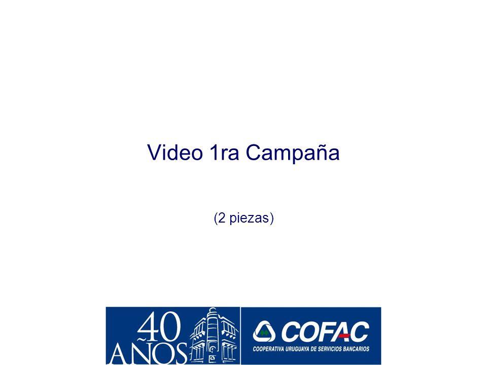 La Construcción de la Imagen de COFAC a partir de 2001 La primera campaña institucional Hacia finales de los 90, COFAC había tenido un muy importante