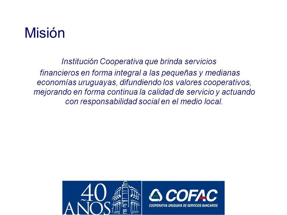 El Modelo de Gobierno 400 DIRIGENTES EN TODO EL PAIS 600FUNCIONARIOS 300.000 SOCIOS MESA EJECUTIVA CONSEJO DIRECTIVO COM. ADM DE FILIAL ASAMBLEA GRAL.