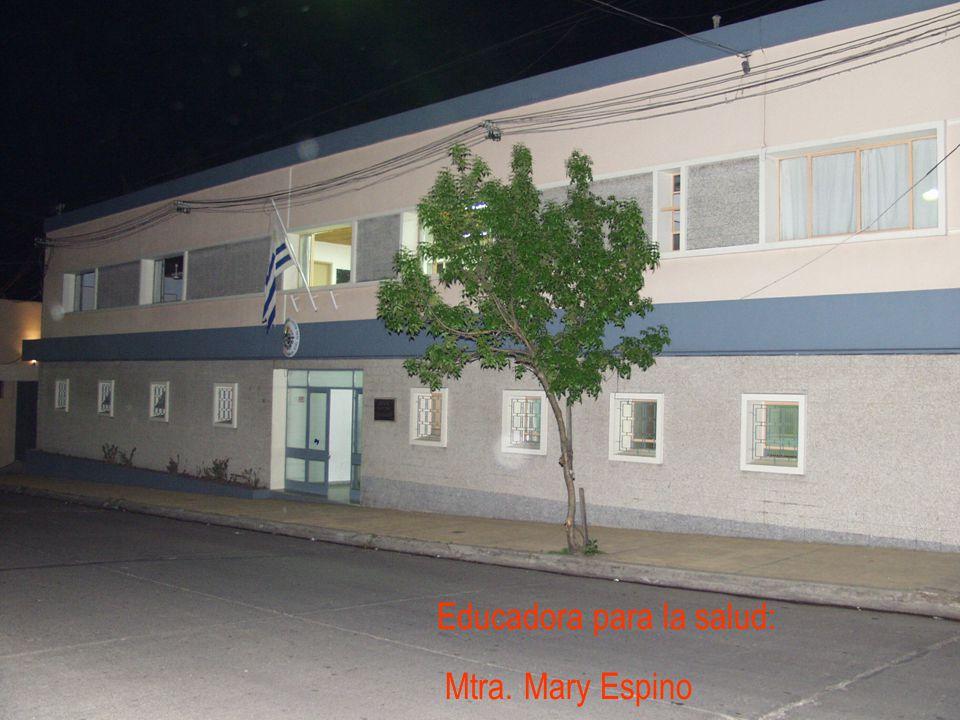 Educadora para la salud: Mtra. Mary Espino