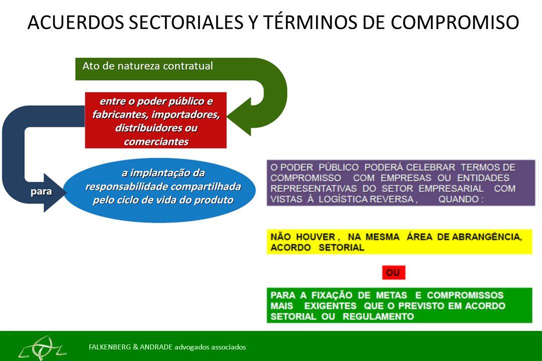 ACUERDOS SECTORIALES Y TÉRMINOS DE COMPROMISO FALKENBERG & ANDRADE advogados associados