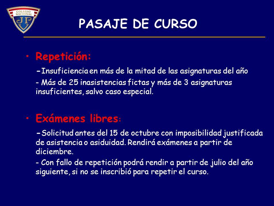 PERÍODOS DE EXÁMENES El examen constará de 2 instancias: 1ª escrita o práctica 2ª oral o práctica 1.