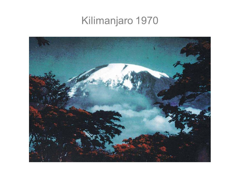 Kilimanjaro 1970