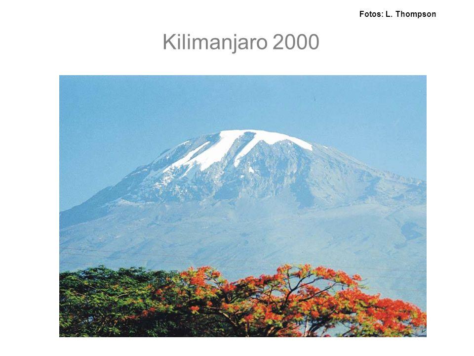 Kilimanjaro 2000 Fotos: L. Thompson