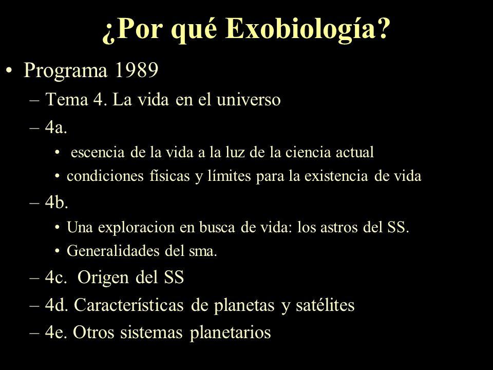 Exobiología Mag. Andrea Sánchez Curso de actualización Docente Febrero de 2002 Rover Soujourner en la superficie de Marte