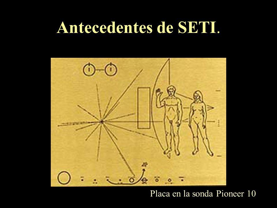 Proyectos SETI ¿estamos solos? Radiotelescopio de Arecibo (300 m de diámetro), PR