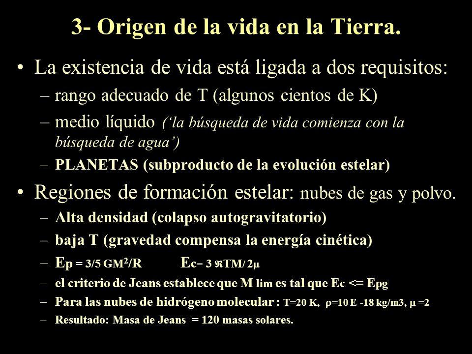 Abundancias cósmicas En general los mas simples son los mas abundantes. Li, Be, B se destruyen en el interior de las estrellas. Abundancia de C,H,O y