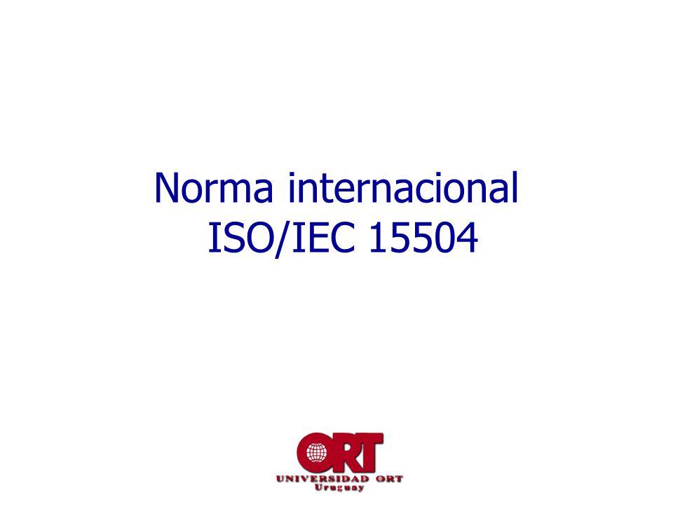 Norma internacional ISO/IEC 15504