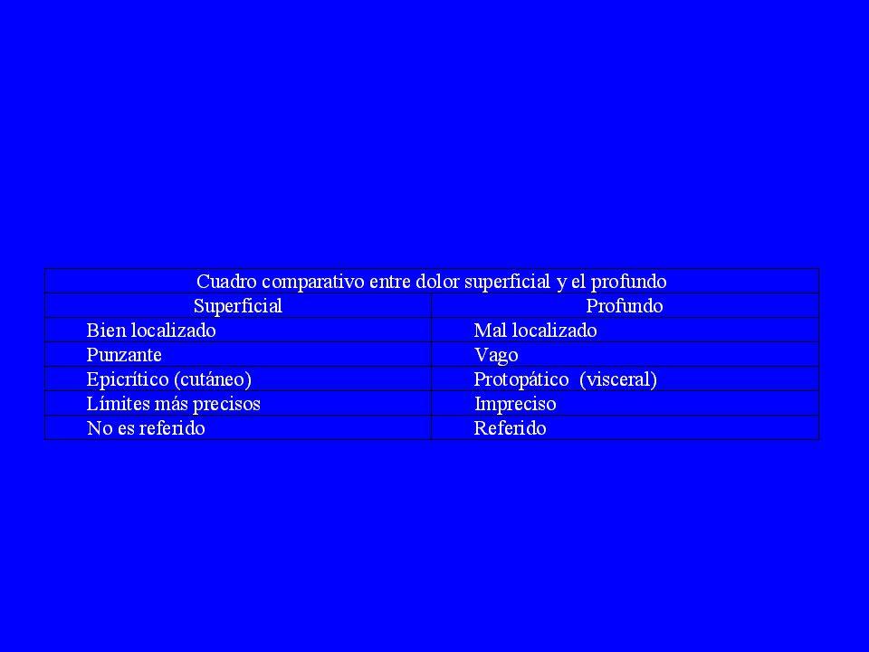 Interrogatorio : ATILIEF APARICIÓN TIPO INTENSIDAD LOCALIZACIÓN IRRADIACIONES EVOLUCIÓN FENÓMENOS ACOMPAÑANTES