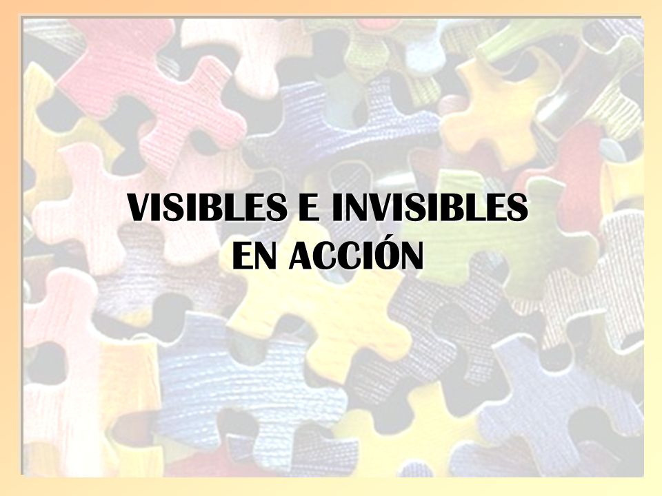 VISIBLES E INVISIBLES EN ACCIÓN