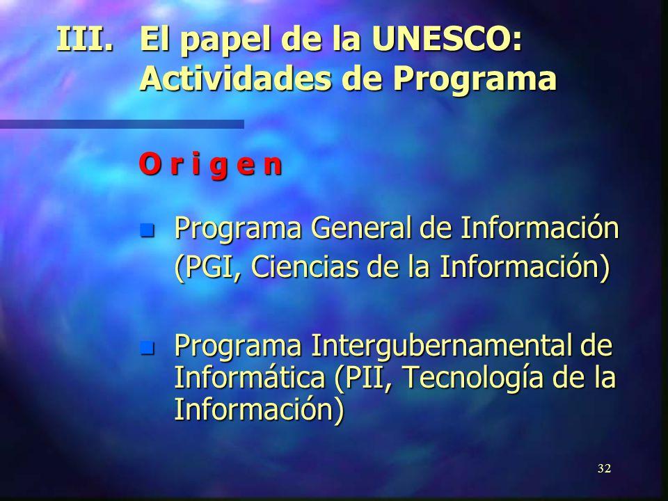 31 n Chile:Hacia la Sociedad de la Información n Mexico:Plan Nacional de Informática n Brazil:Libro Verde de la Sociedad de la Información n Jamaica:P