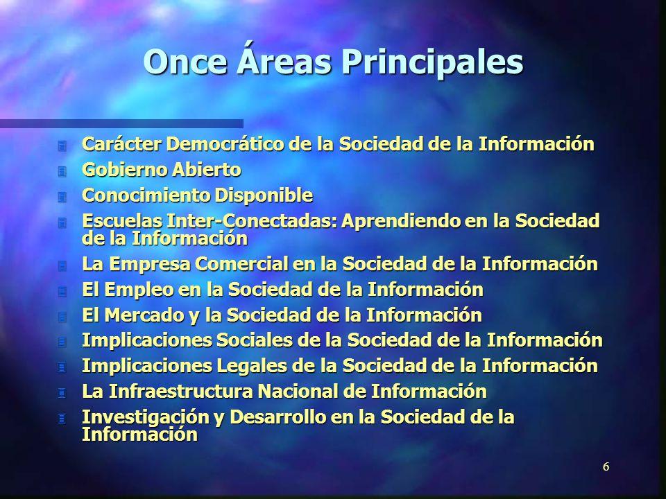 5 Una visión general sobre la Sociedad de la Información