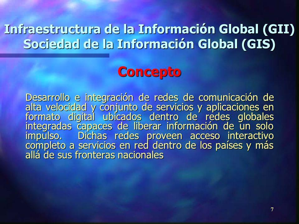 6 Once Áreas Principales 3 Carácter Democrático de la Sociedad de la Información 3 Gobierno Abierto 3 Conocimiento Disponible 3 Escuelas Inter-Conecta