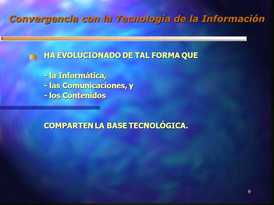 8GII-GIS Conclusiones de la OCDE 4 disponibilidad y difusión de infraestructuras interactivas de alta velocidad 4 acceso y uso equitativo de infraestructuras tanto para clientes como para proveedores 4 interconexión e interoperabilidad de infraestructuras y servicios 4 crecimiento y desarrollo de los servicios multimedia 4 transacción y salvaguarda de la información: privacidad, confidencialidad de la información, seguridad en los pagos y protección de la propiedad intelectual