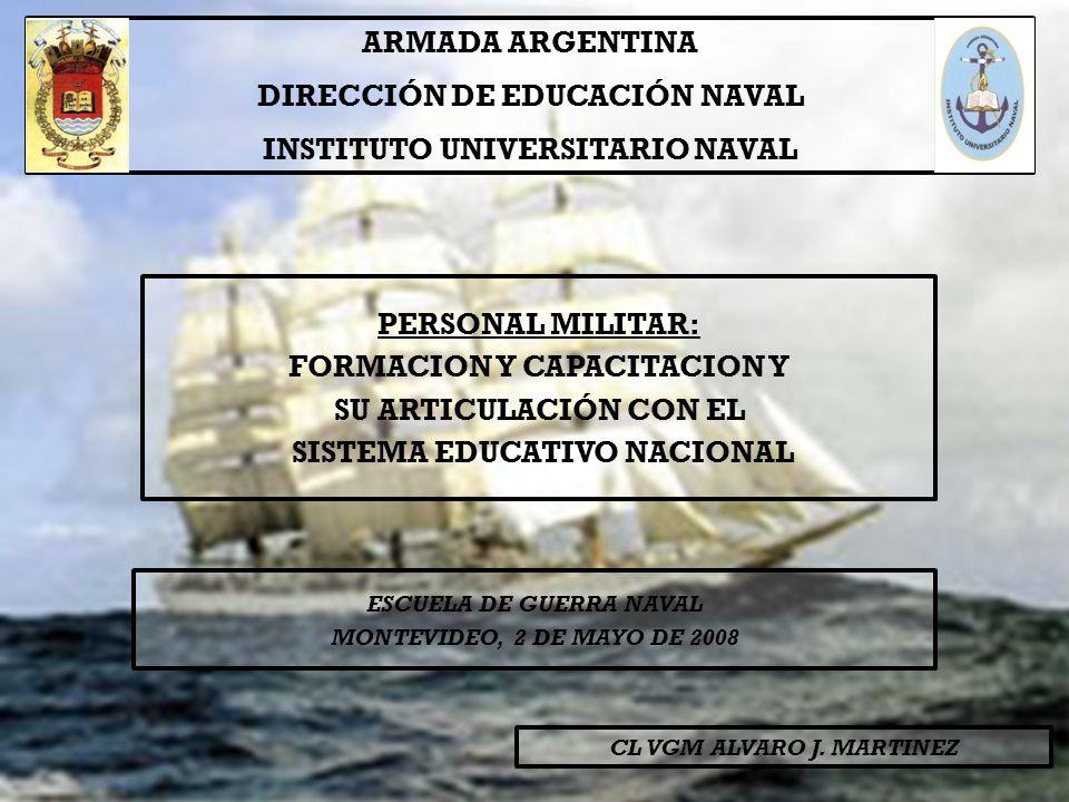 La capacitación del Personal Civil pensada como un subsistema dentro del Sistema Educativo Naval.