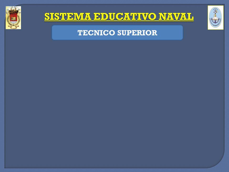 SISTEMA EDUCATIVO NAVAL TECNICO SUPERIOR -Formación teórico – práctica para realizar tareas de instalación, mantenimiento y actualización de los siste
