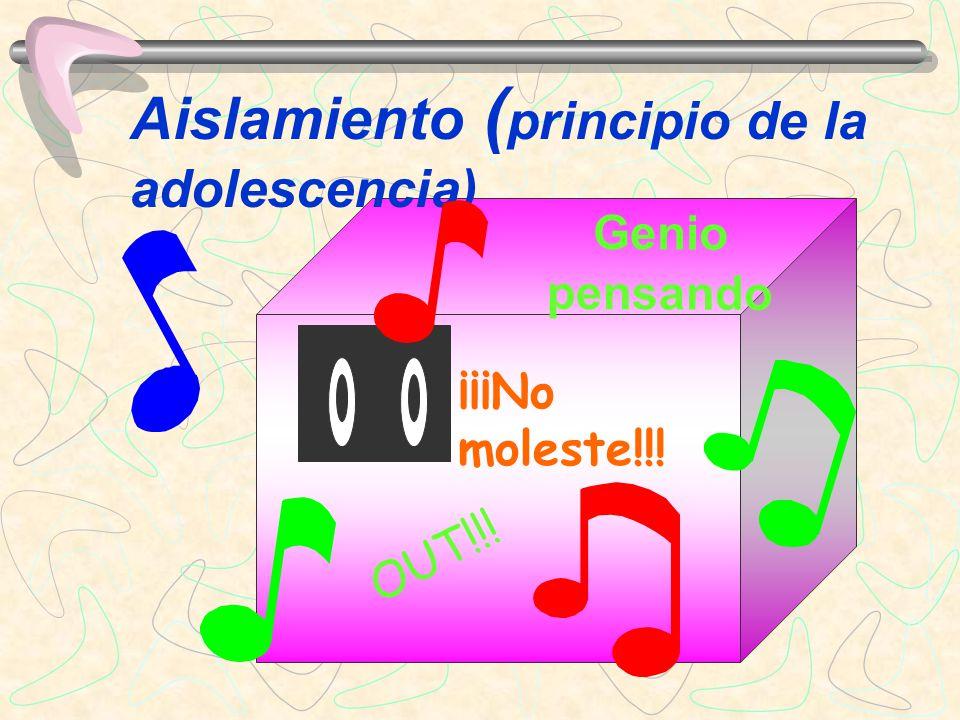 La música ha demostrado ser la empatía estética mas importante para la juventud (Blair, 2002).
